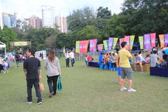 2015 Hong Kong Mardi Gras Arts in de Parkgebeurtenis Stock Fotografie