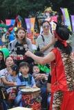 2015 Hong Kong Mardi Gras Arts in de Parkgebeurtenis Royalty-vrije Stock Foto
