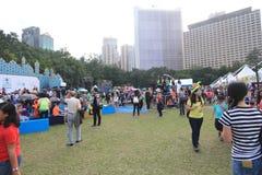 2015 Hong Kong Mardi Gras Arts in de Parkgebeurtenis Stock Afbeeldingen