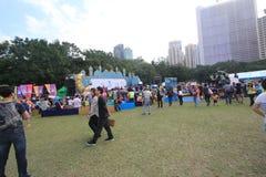 2015 Hong Kong Mardi Gras Arts in de Parkgebeurtenis Stock Afbeelding