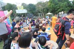 2015 Hong Kong Mardi Gras Arts in de Parkgebeurtenis Royalty-vrije Stock Fotografie