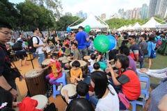 2015 Hong Kong Mardi Gras Arts in de Parkgebeurtenis Royalty-vrije Stock Afbeeldingen
