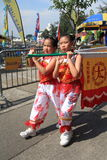 Hong Kong Mardi Gras Arts 2015 en el evento del parque Fotografía de archivo libre de regalías