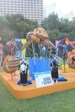 Hong Kong Mardi Gras Arts 2015 im Parkereignis Lizenzfreies Stockbild