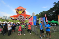 Hong Kong Mardi Gras Arts 2015 no evento do parque Foto de Stock