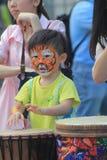 Hong Kong Mardi Gras Arts 2015 no evento do parque Imagens de Stock Royalty Free