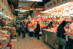 Hong Kong Market Royalty Free Stock Photography