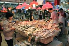Hong Kong Market stock images