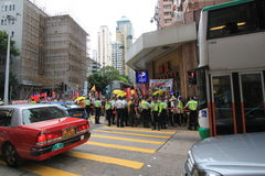 2015 Hong Kong marszu wydarzenie 26th rocznica plac tiananmen protesty 1989 Obraz Royalty Free