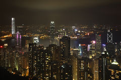 Hong Kong maximum victoria Kina Royaltyfri Bild