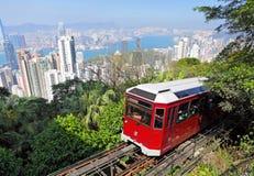 Hong Kong maximumspårvagn Royaltyfri Bild
