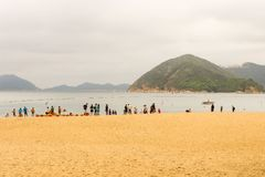 Hong Kong - May 20, 2017, Editorail use only; View Repulse Bay b Royalty Free Stock Image