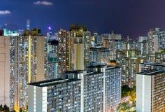 Hong Kong miasta życie Zdjęcia Royalty Free
