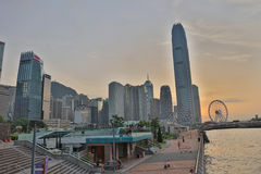 Hong Kong miasta widok 2016 Zdjęcie Stock