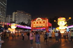 Hong Kong Mid-Autumn Festival 2013 Stock Photography