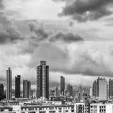 Hong Kong mieszkania linia horyzontu Obrazy Royalty Free