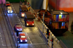 Hong Kong in Miniature Stock Photography