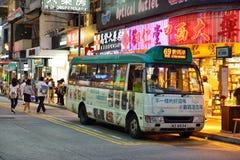 Hong Kong Minibus Royalty Free Stock Image