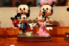 Hong Kong :Minnie and Mickey Mouse toys Stock Photography