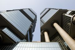 Hong Kong - modern architecture Stock Images