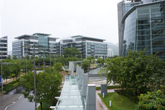 Hong kong modern building Stock Photos