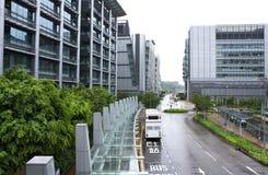 Hong kong modern building Stock Photo