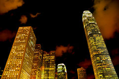 Hong Kong modern buildings Royalty Free Stock Image