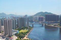 Hong Kong modern city Royalty Free Stock Image