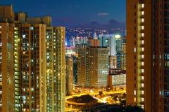 Hong Kong modern city Stock Images