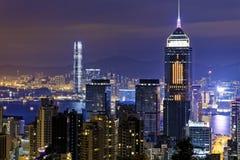 Hong Kong Modern City Royalty Free Stock Photo