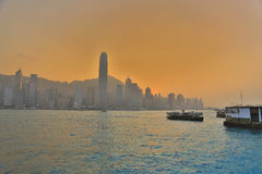 Hong Kong modern city 2017 Royalty Free Stock Image