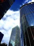 Hong Kong modern commercial building stock image