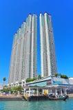Hong Kong moderna byggnader Royaltyfri Fotografi