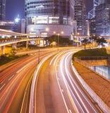 Hong Kong, moderne Stadt Lizenzfreie Stockfotos