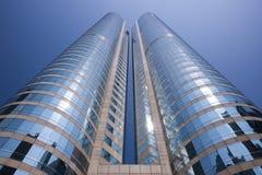 Hong Kong - modernes Bürohaus Stockfotos