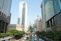 Hong Kong moderno Immagini Stock Libere da Diritti