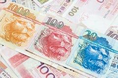 Hong Kong money Stock Photos