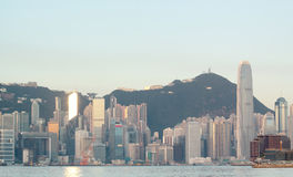 Hong kong morning Stock Photo