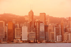 Hong Kong morning Stock Images