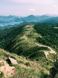 Hong Kong Mountain. Take the photo at Hong Kong 17th April Royalty Free Stock Image