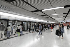 Hong Kong MTR Stock Photography