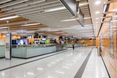 Hong Kong MTR Lei Tung Station lizenzfreie stockfotografie
