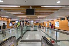 Hong Kong MTR Lei Tung Station Royalty Free Stock Photos