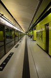 Hong Kong MTR platforma Zdjęcie Stock