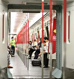 Hong Kong MTR Stock Image