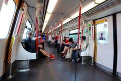 Hong Kong MTR sobre la tierra Imagen de archivo libre de regalías