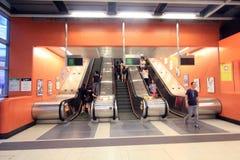 Hong Kong MTR station in Po Lam Royalty Free Stock Photos