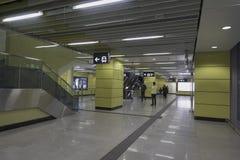 Hong Kong MTR Wong Chuk Hang Station Stock Image