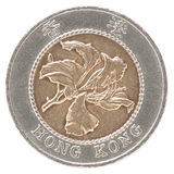 Hong Kong mynt Royaltyfri Fotografi