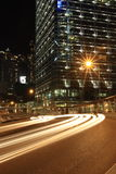 Hong Kong nachts Stockbilder